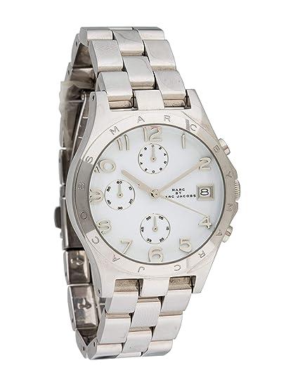 Marc Jacobs MBM3038 - Reloj de Pulsera para Mujer, Cuarzo Plateado, diseño de Henry