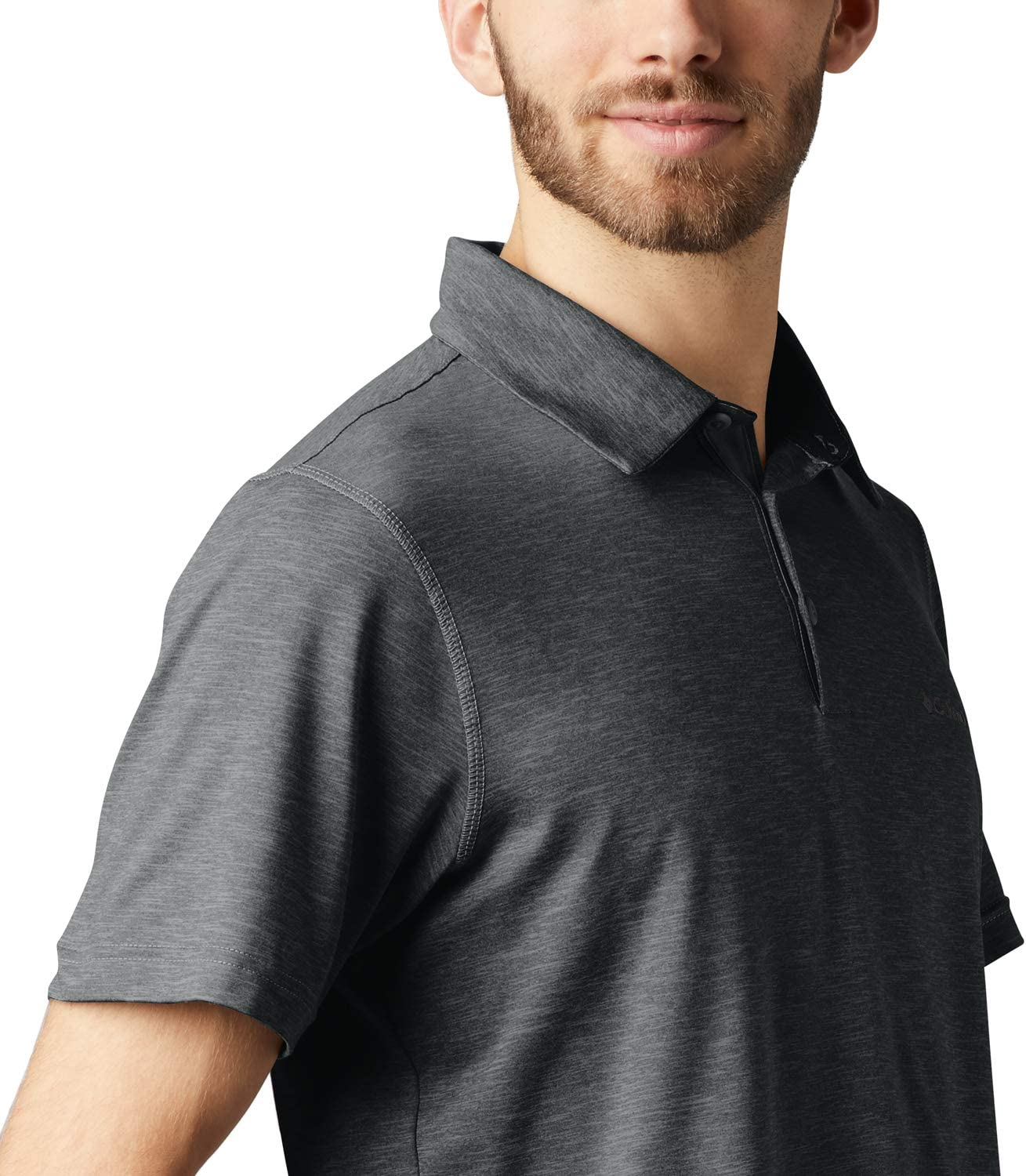 Columbia Mens Hoodie Silhouette with Features as Omni-Shade UPF 30 Sun Protection
