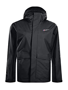 berghaus Dalemaster Chaqueta Impermeable, Mujer, Negro, XXL