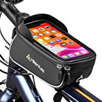 Details about  /Bicycle Cycling Front Tube Frame Bags Screen Touch Phone Holder MTB Mobile Case