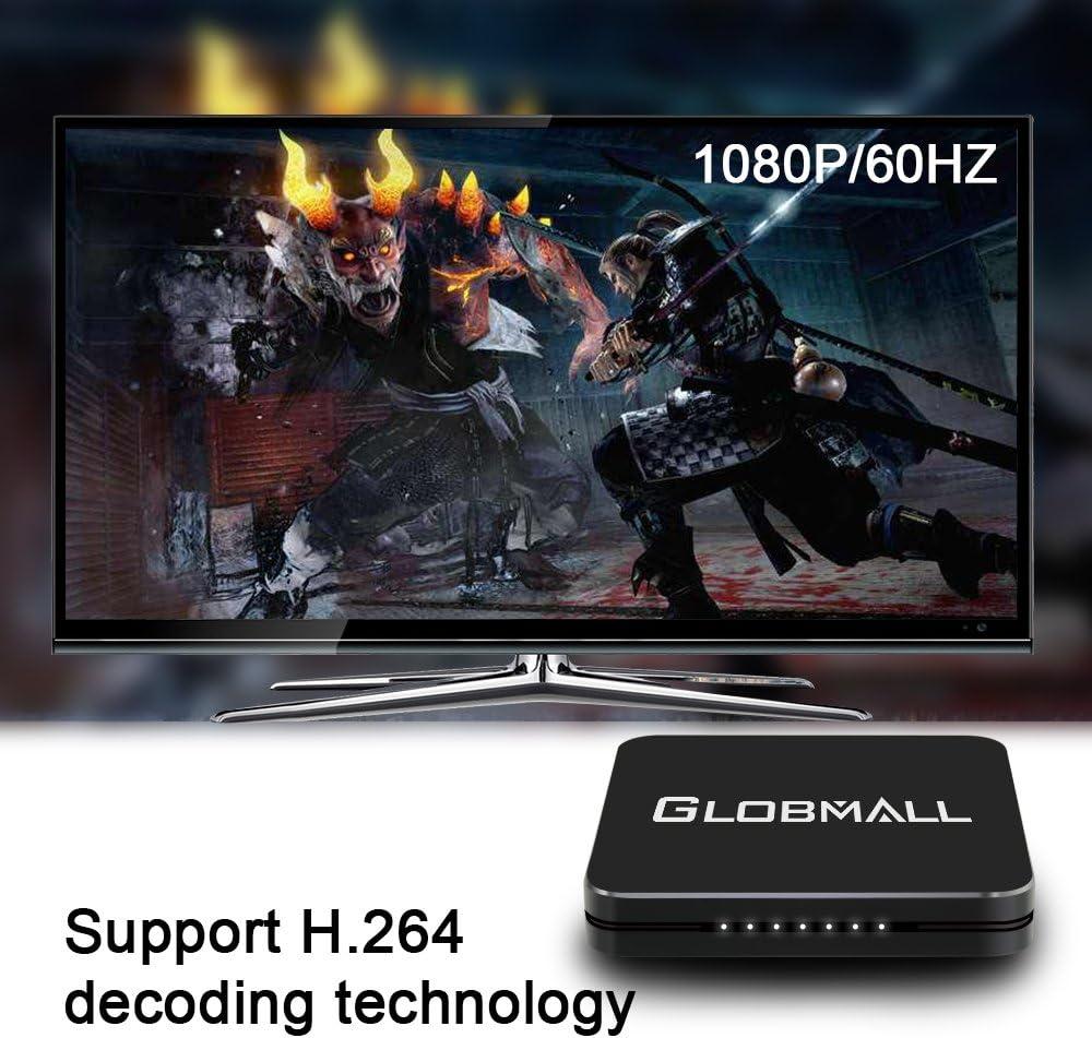 Globmall Full HD 1080P Capturadora de Video Grabadora de Juegos Apoyo Micrófono HDMI H.264 Plug&Play para XBOX PS3 PS4 PC: Amazon.es: Electrónica