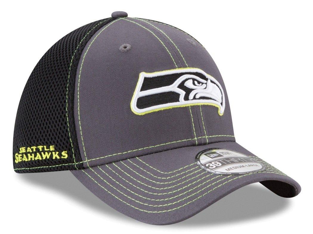 separation shoes 4f462 29d13 Amazon.com   Seattle Seahawks New Era NFL 39THIRTY