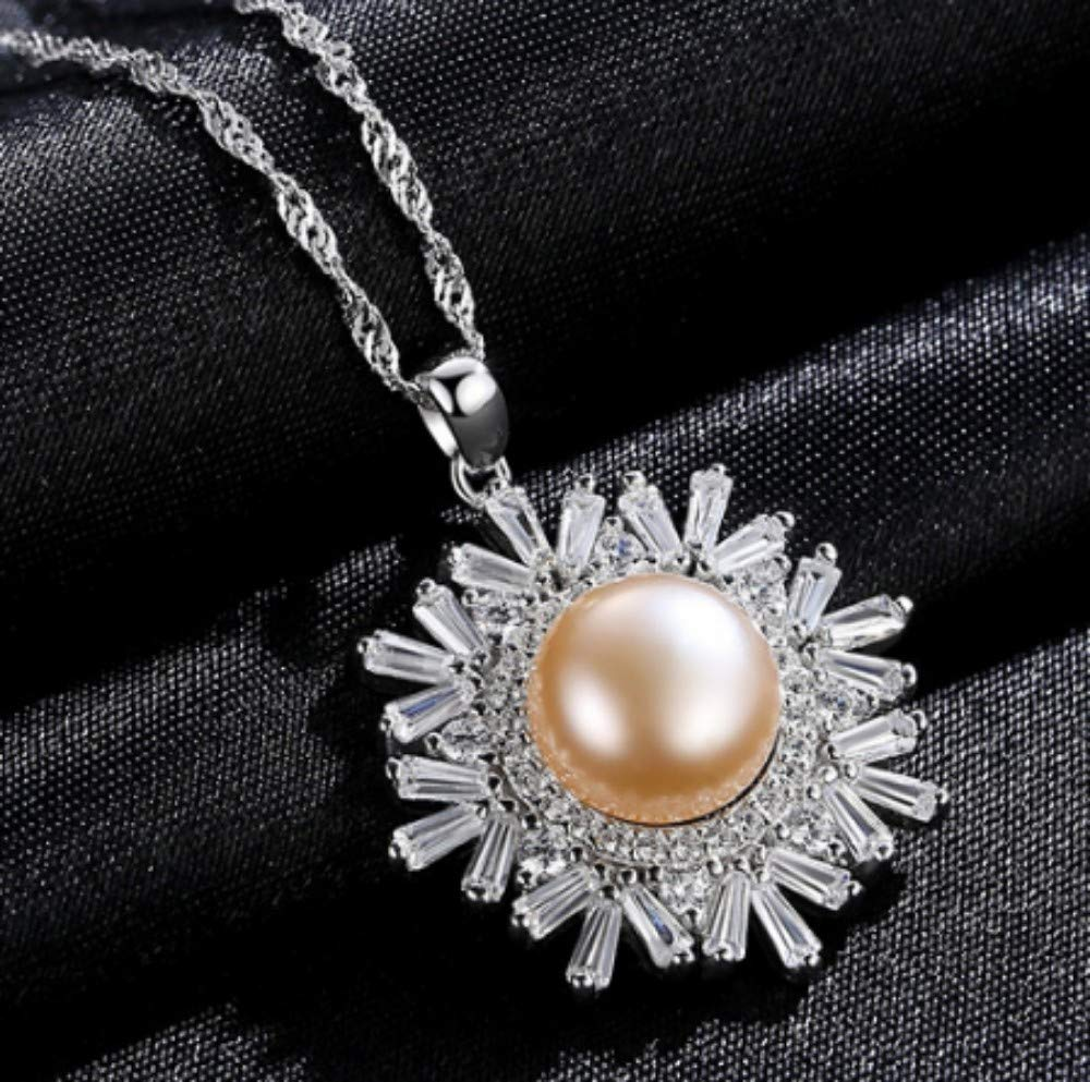 100%の保証 QWERSTネックレス女性のための純銀製天然淡水パールペンダントファッション絶妙なチャームネックレス最高の贈り物C B07NRM55W4 B07NRM55W4, サクセスビジネス:28a14977 --- a0267596.xsph.ru