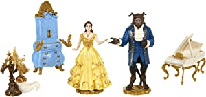 Beauty and The Beast Live Action Figure Set