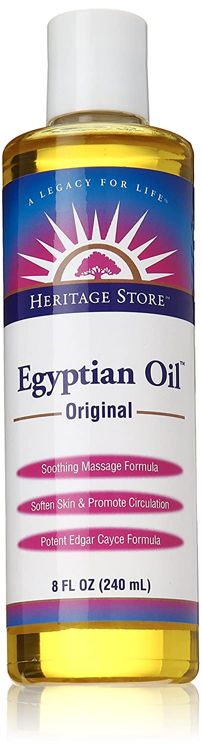 Heritage Store Egyptian Oil, Original, 8-Ounce 11068