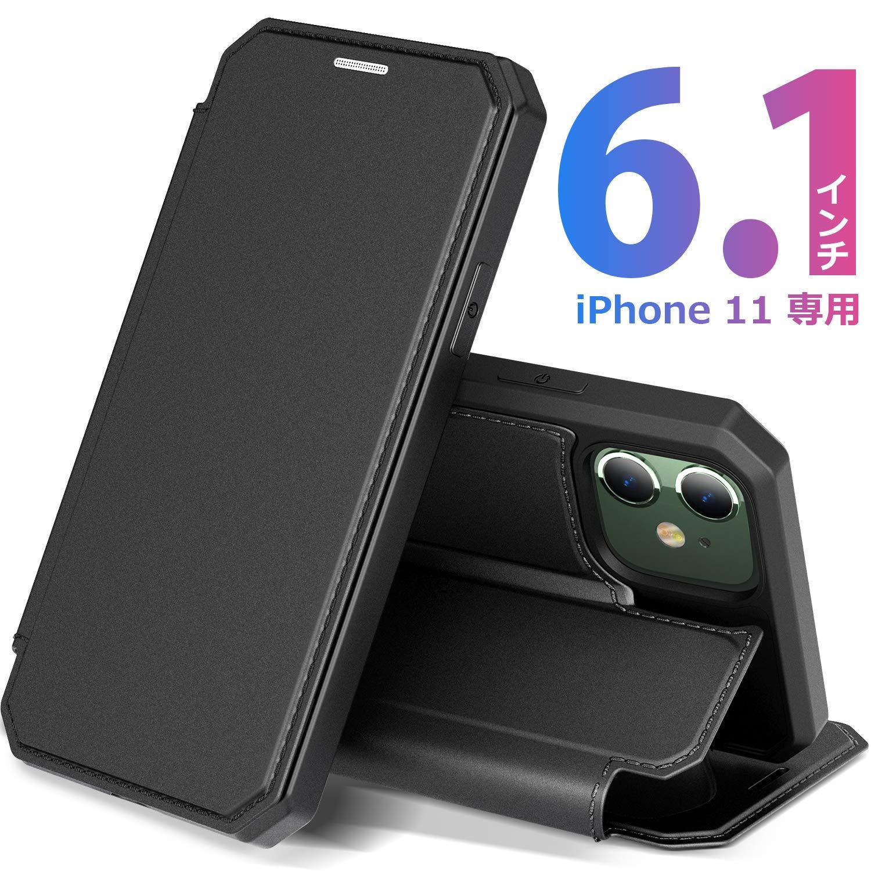 【DUXDUCISJP】iPhone 11ケース 手帳型のサムネイル
