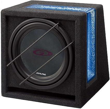 Alpine Sbg 844br Bassreflex Subwoofergehäuse 4 Ohm Audio Hifi