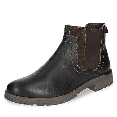 ARA 11-16401-04 Herren Chelsea Boots aus Glattleder mit  Veloursledereinsätzen  Ara  Amazon.de  Schuhe   Handtaschen 76723128bb