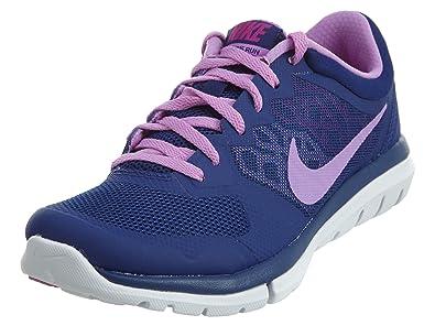89665e96b9b4f Nike 2015 Q3 Women FLEX 2015 RN MSL Running Sneaker Shoes 724987-403 Blue (