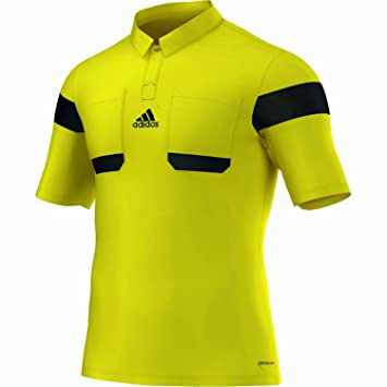 ac675ebef Adidas Referee Shirt K A 13 14 Men s Neon Yellow Black yellow ...
