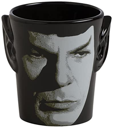 881f6f20161 Buy Vandor 55394 Star Trek Spock 3D Ears Shaped Ceramic Soup Coffee Mug  Cup, 20 Ounce Online at Low Prices in India - Amazon.in