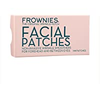 FROWNIES Facial Patches for Wrinkles, Damaged Skin, Smoothing Skin, Lines and Wrinkles, Use Daily or Nightly on the Forehead & Between Eyes Box 144 Pat