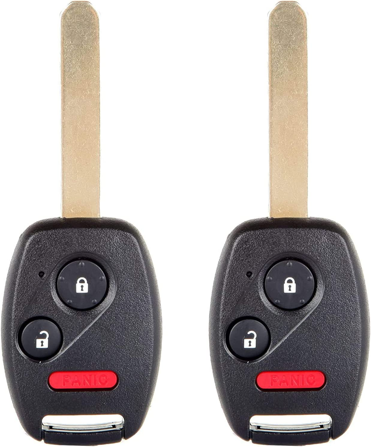 2+1 Buttons 433 Mhz CWTWB1U545 ID46//PCF7936 Chip Fob Keyless Entry Car remote key for Honda Pilot 2005-2008 Auto Parts 2 Pack