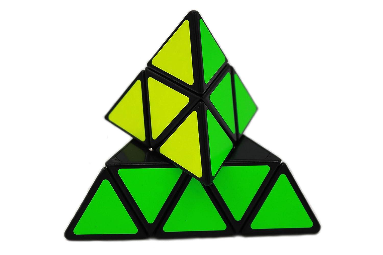 MEISHINE/® 2 Pack Zauberw/ürfel Set 3x3x3 Dreieck Pyramid Pyraminx Zauberw/ürfel Mastermorphix Zauberw/ürfel Geschwindigkeit Cube Magic Cube Speed Puzzle Cube