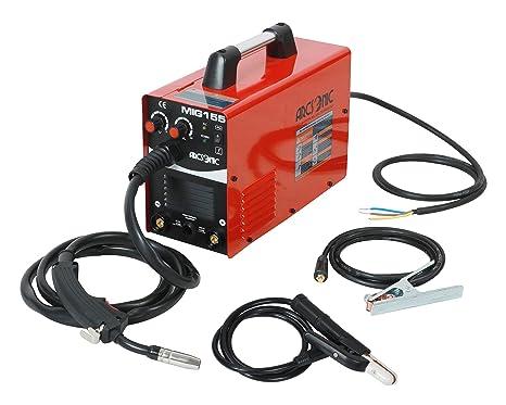 220V IGBT Inverter Mig Welding Machine MIG155 Gas/No Gas, MMA/MIG Flux Wire Welding machine 2 in 1 MMA/Mig Welding Machine 220V Input