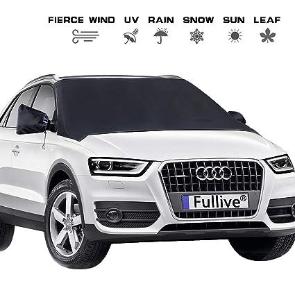 3623a8ea464a1f Amazon.com  Windshield Cover - Car Windshield Snow Cover