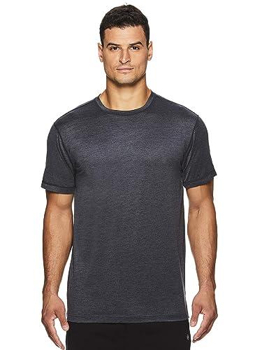 Amazon.com: Gaiam Everyday Basic Camiseta de cuello redondo ...