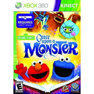 Xbox games for toddlers - Sesame street: once upon a monster