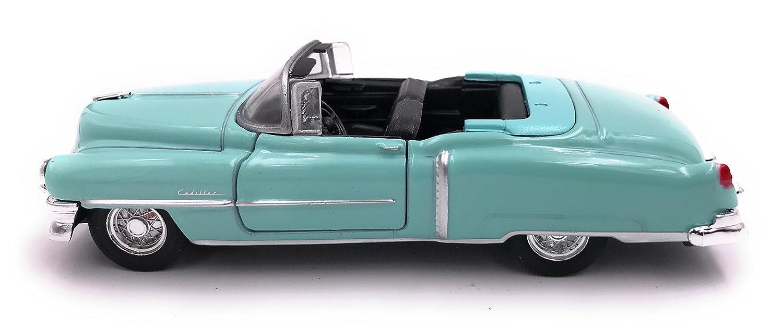 34-1 Welly Cadillac Eldorado Mod/èle Auto Auto License Produit 1 39 Turquoise