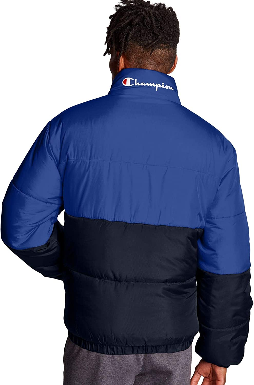 Champion mens Stadium Puffer Jacket V4522 550205