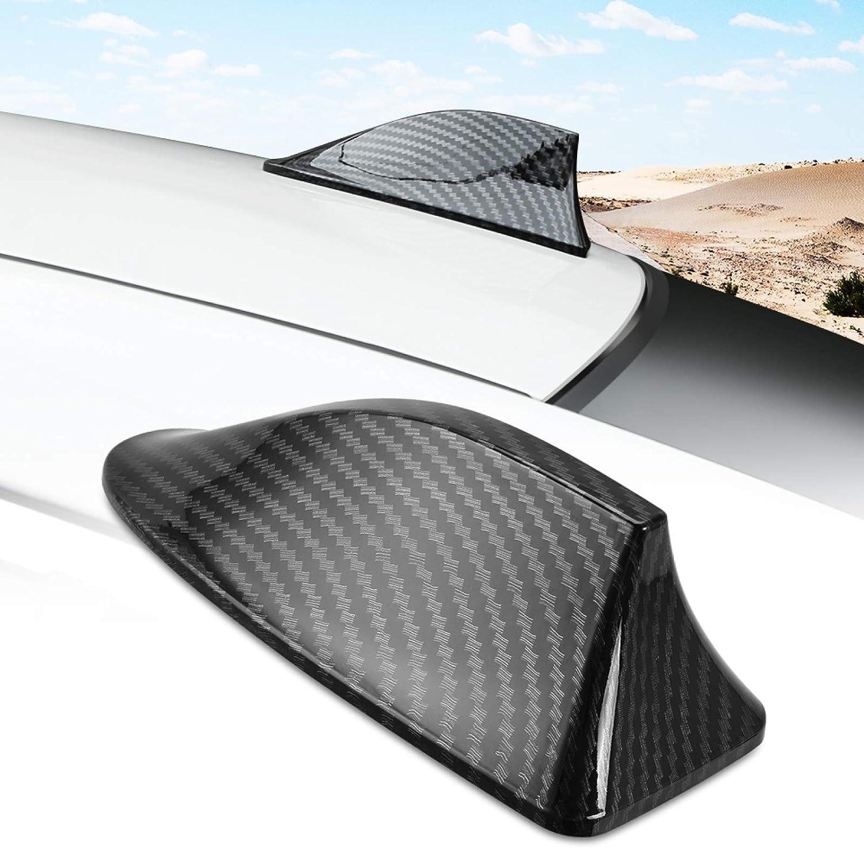 Hkpkyk Für Mercedes Benz Acerm Klasse Cla Gla W204 Glc 260 C200 Auto Carbon Faser Haifischflossenantenne Sport Freizeit