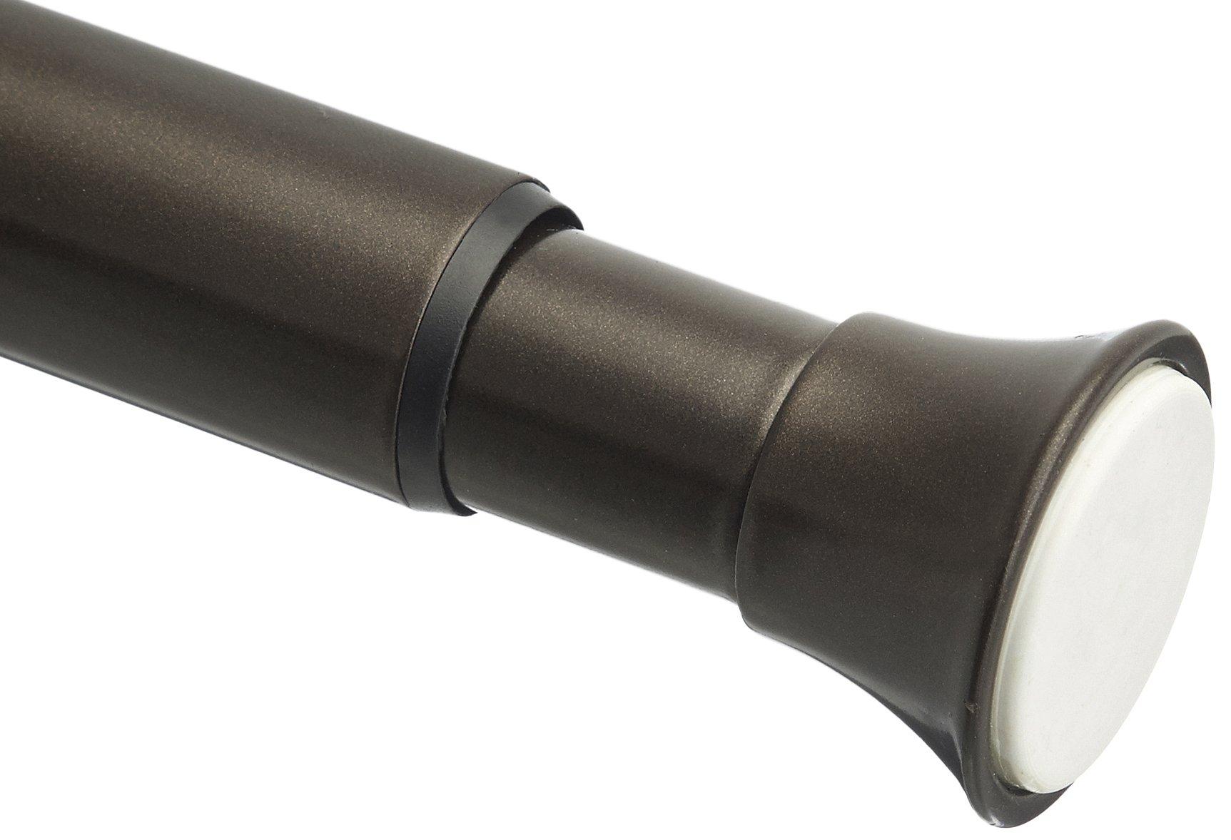 AmazonBasics Tension Curtain Rod - 54-90'', Bronze by AmazonBasics