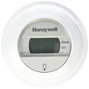 Honeywell Digital T8775A1009 Round Non-Programmable Heat-Only