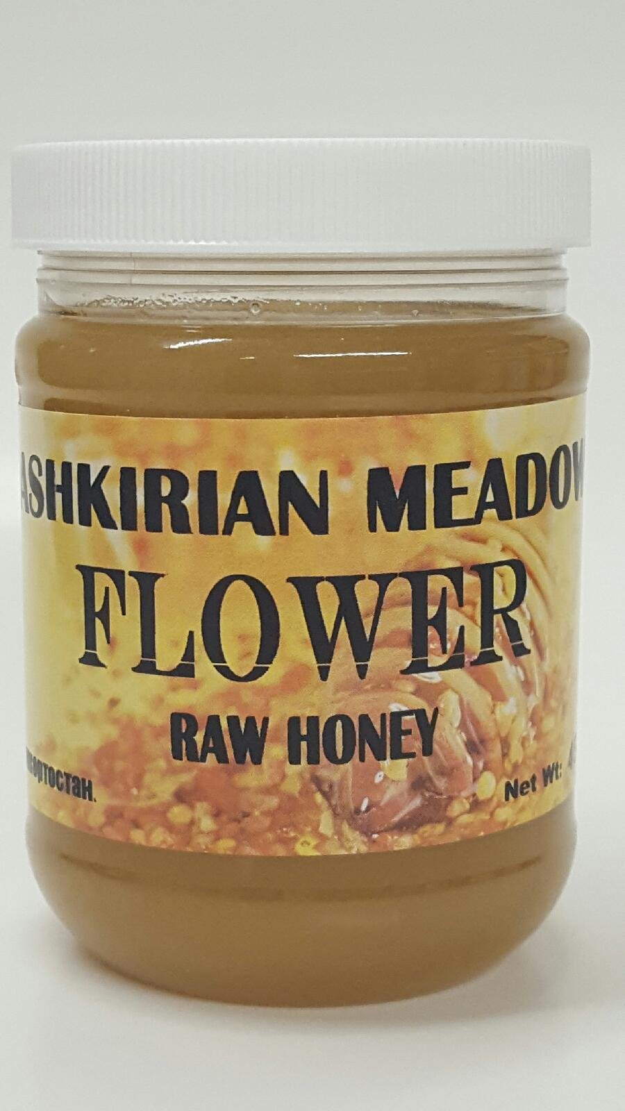 Bashkirian Raw Flower Honey 454G/16oz
