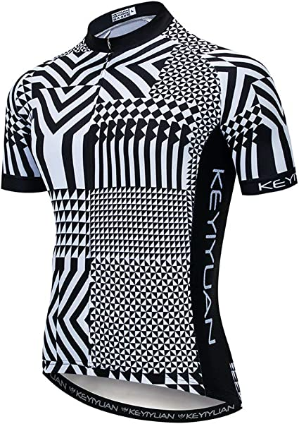Uriah Mens Cycling Jersey Short Sleeve Sweat Wicking