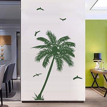 decalmile Palmen Baum Wandsticker Entfernbare Wandtattoo ...