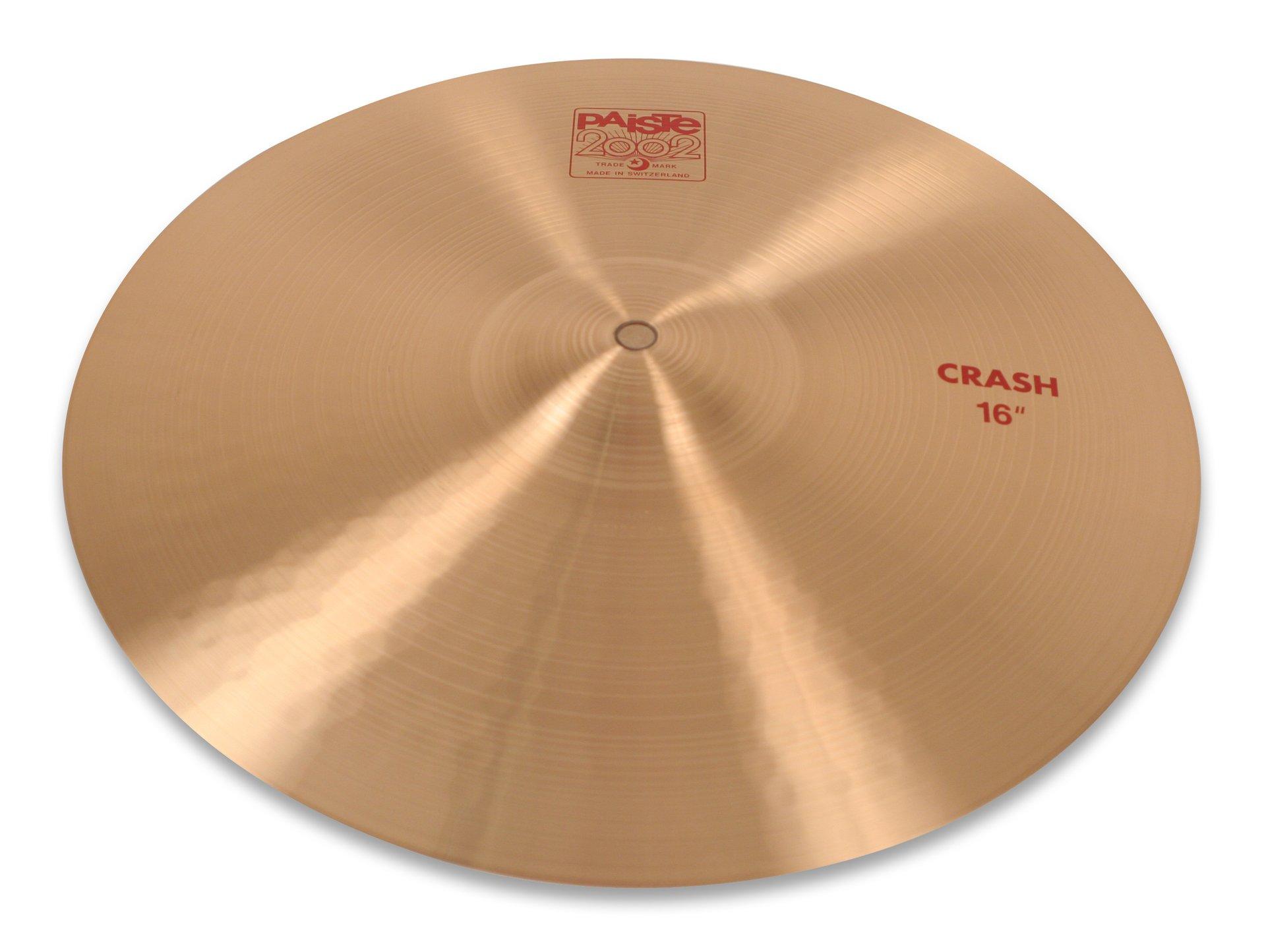 Paiste 2002 Classic Cymbal Crash 16-inch by Paiste