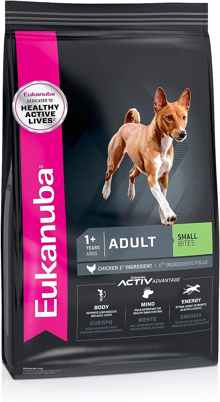 Eukanuba Adult Small Bites Chicken Flavor Dry Dog Food, 16 lbs.