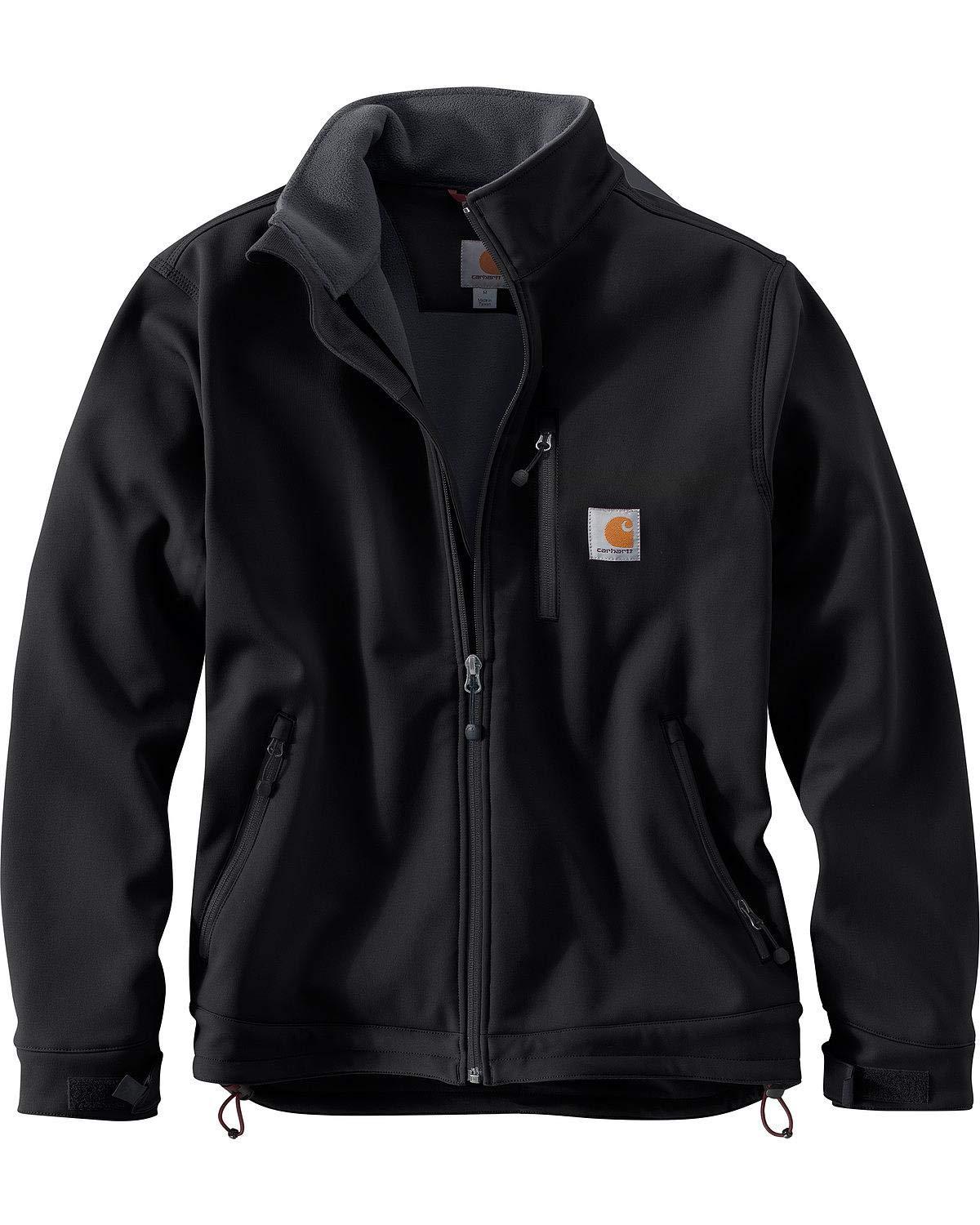 Carhartt Men's Big & Tall Crowley Jacket, Black, Large/Tall by Carhartt