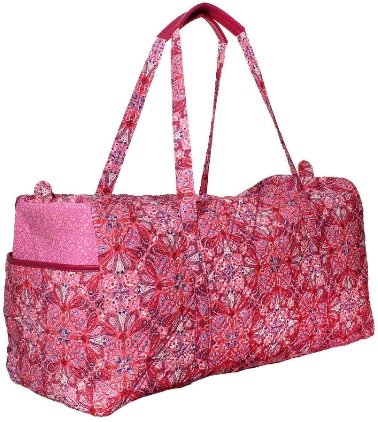Women's Waverly Pink Paisley Duffel Bag
