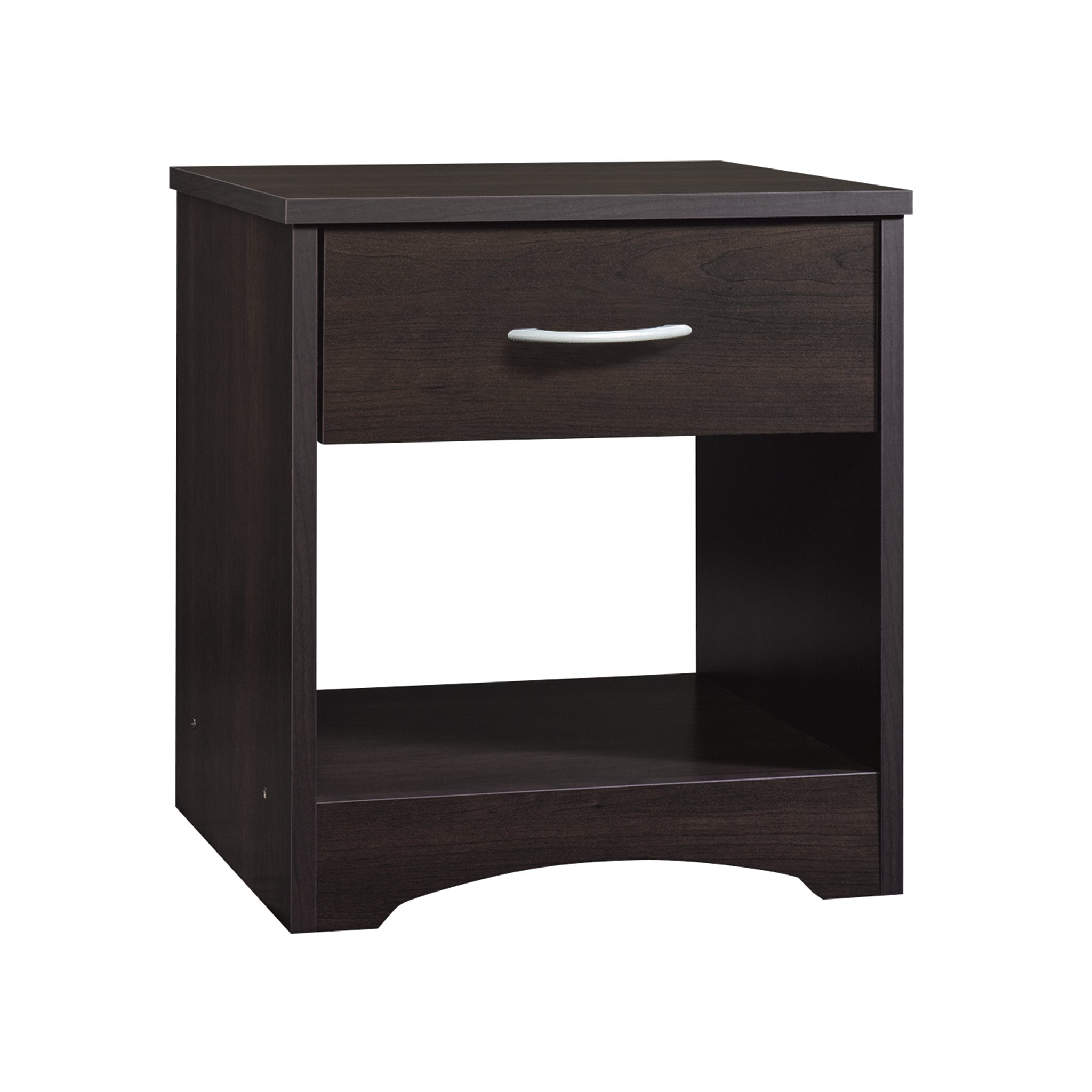 Sauder 422807 Beginnings Night Stand, L: 17.09'' x W: 14.69'' x H: 18.58'', Cinnamon Cherry finish