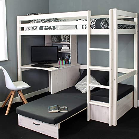 Awesome Thuka High Bed Desk Sofabed Home Assembly Included Forskolin Free Trial Chair Design Images Forskolin Free Trialorg
