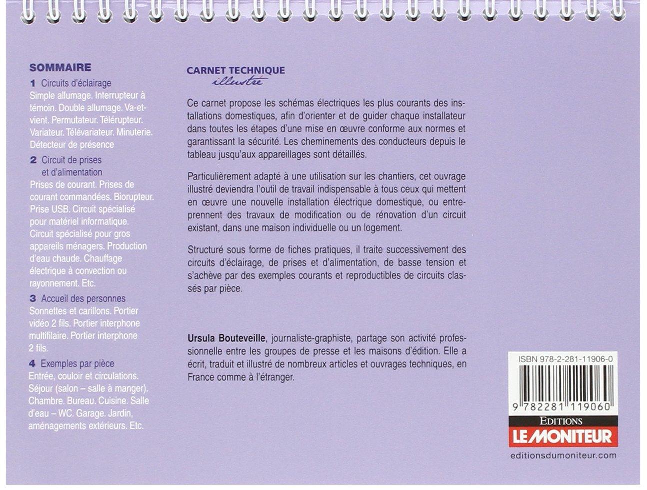 Amazon.fr   Schémas électriques Domestiques: Tous Les Raccordements :  éclairage, Circuits De Prises Et Du0027alimentation, Interphonie...   Ursula  Bouteveille   ...