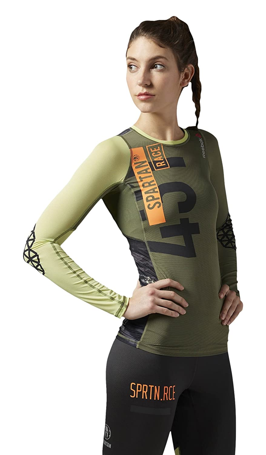 Reebok Damen Langärmeliges Shirt Spartan Pro Long Sleeve