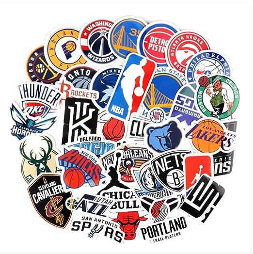 37 Pegatinas De La Nba Logotipo Del Equipo De Baloncesto Icono Del ...