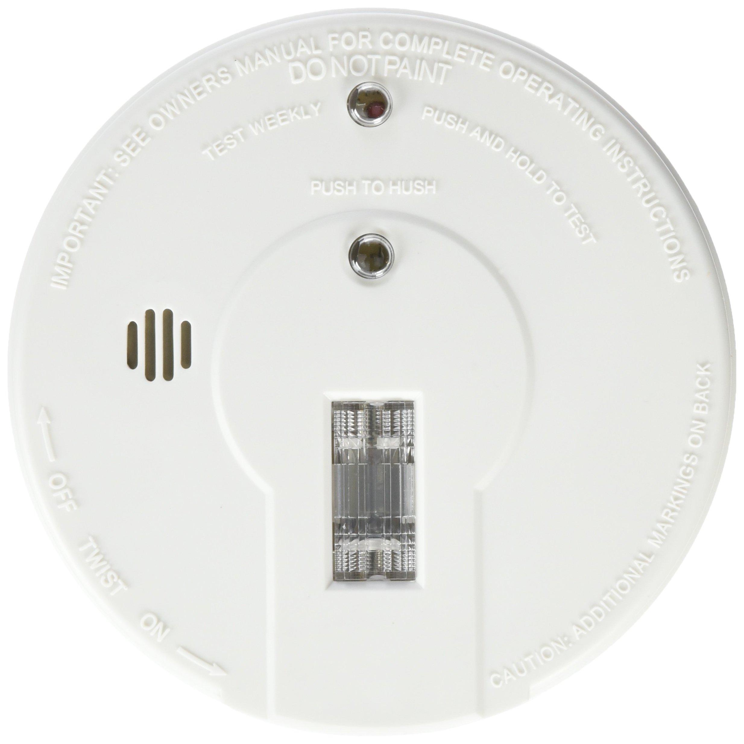 Kidde 408-I9080 i9080 Battery Powered Smoke Alarm with Safety Light