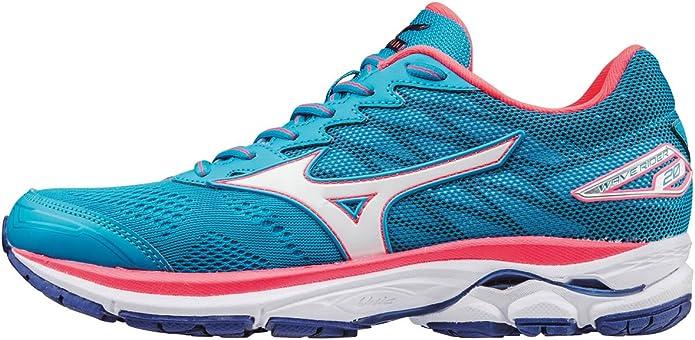 Mizuno Wave Rider 20 (W), Zapatillas de Running para Mujer ...