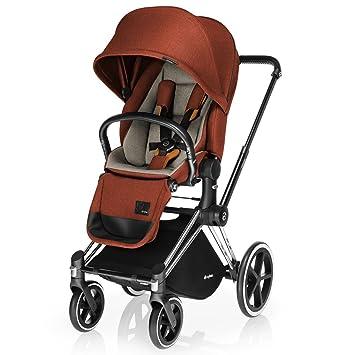 Amazon Com Cybex Priam Stroller Lux Seat Autumn Gold Denim Baby