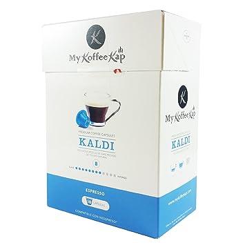KALDI - 120 cápsulas de café PREMIUM compatibles con Nespresso®: Amazon.es: Hogar