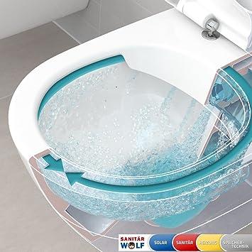 Villeroy & Boch O.Novo Wand WC Directflush ohne Spülrand *kein WC ...