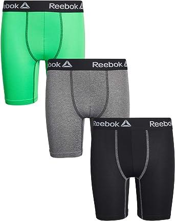 Small Reebok Boys Performance Boxer Briefs 3 Pack