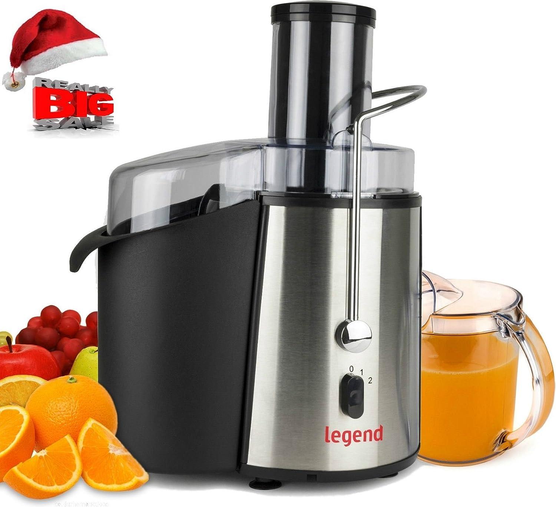 New Legend 850W Pro Whole Fruit Power Juicer Vegetable Citrus Juice Extractor