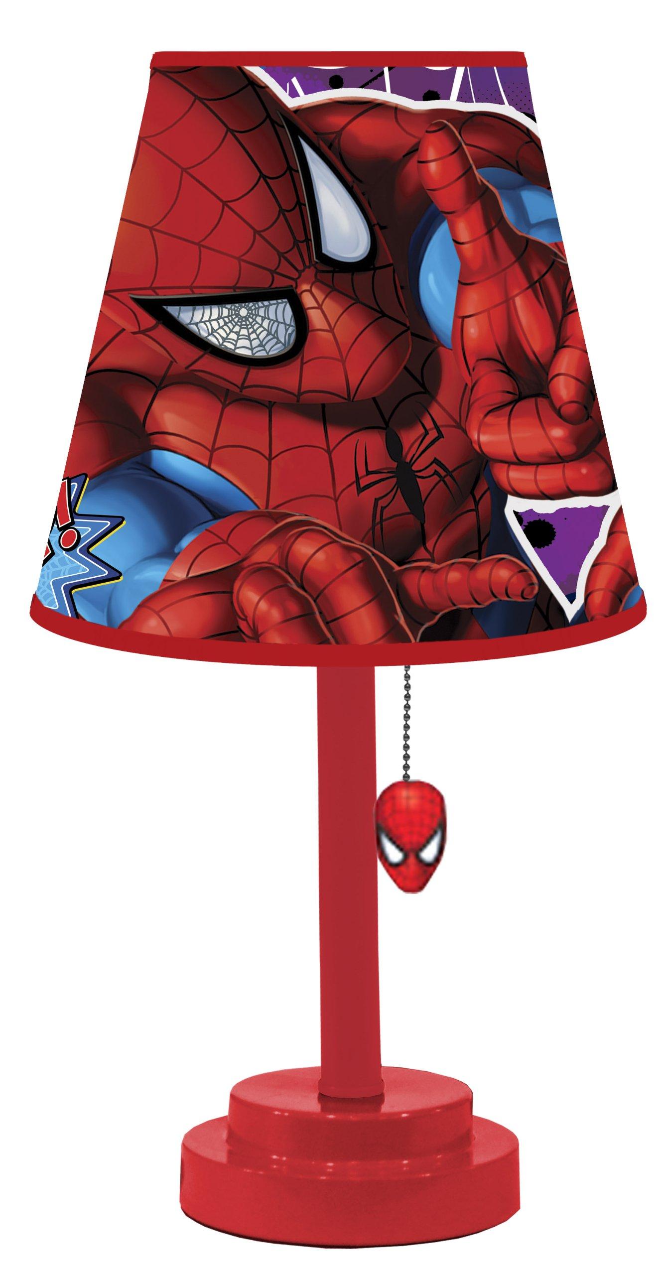 Marvel Spiderman Table Lamp