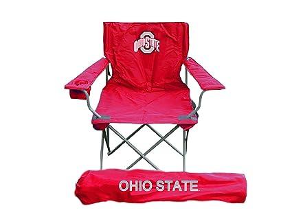 Amazon.com: Rivalidad NCAA Ohio State Buckeyes adulto silla ...