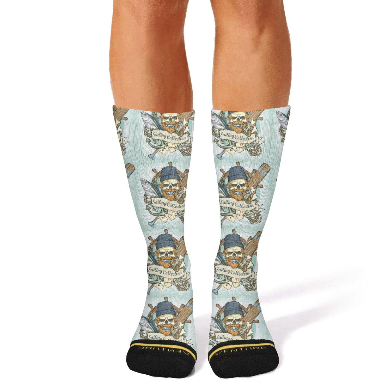 Ouawjdff Design Boom Comics Bang Fashion Womens//mens Sporty Knee High Socks