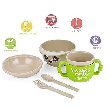 Amazoncom Cenry Toddler Dinnerware Set 5 Piece Kids Plates And